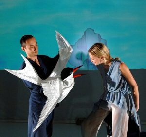 THEATRE of IMAGE 'Lulie The Iceberg' Kiki The Tern (Yoshio Kanoshige & Zoe Tuckwell-Smith) CBranco Gaica