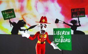 THEATRE of IMAGE 'Lulie The Iceberg' Latino Dictator Puppet 2 CBranco Gaica