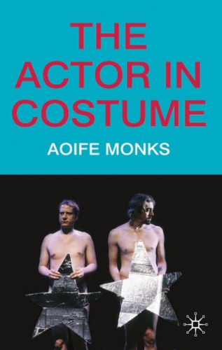 book cover for The Actor in Costume