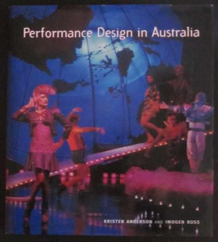 cover of book, performance design in australia